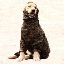 Собака дождевик для больших собак, Хаски, самоед, больших собак 6 размеров Водонепроницаемый мужской и женский дождевик одежда, куртка костюмы Комбинезоны 2019