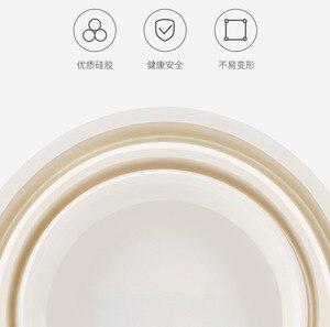 Image 5 - Seau de Gel de silice pliable Xiaomi 7.2L Portable Durable facile à nettoyer ménage extérieur voyage pêche sortie voiture lavage