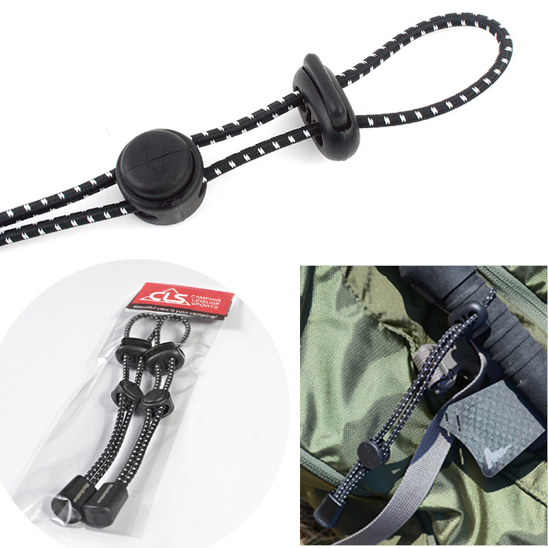 Outdoor Mountaineering Backpack, External Climbing Pole, Rope Buckle, Fixed Elastic Rope, Binding Button, Equipment,Outdoor Mountaineering Backpack, External Climbing Pole, Rope Buckle, Fixed Elastic Rope, Binding Button, Equipment,