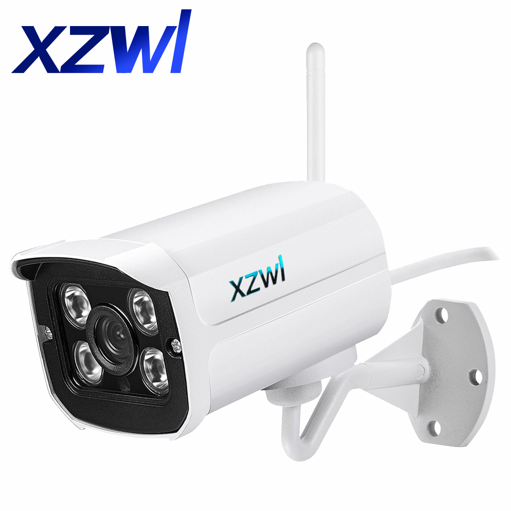 Outdoor Waterproof 1080P WIFI IP Camera Wireless Infrared Night Vision Motion Detect Cctv Webcam Support 64GB Micro SD Card P2P bullet 1080p ip camera 2mp wifi wireless outdoor waterproof ip66 infrared night vision motion detect cctv webcam freeshipping