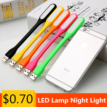 Portable Flexible Led Lamp For Notebook Laptop Tablet PC Power Bank Computer USB LED Lamp Night