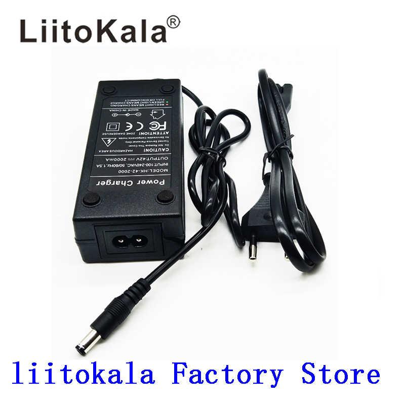 36 V 2A зарядное устройство 42 V 2A зарядное устройство Вход 100-240 VAC литий-ионная Li-poly зарядное устройство для 10 серий 36 V Электрический велосипед