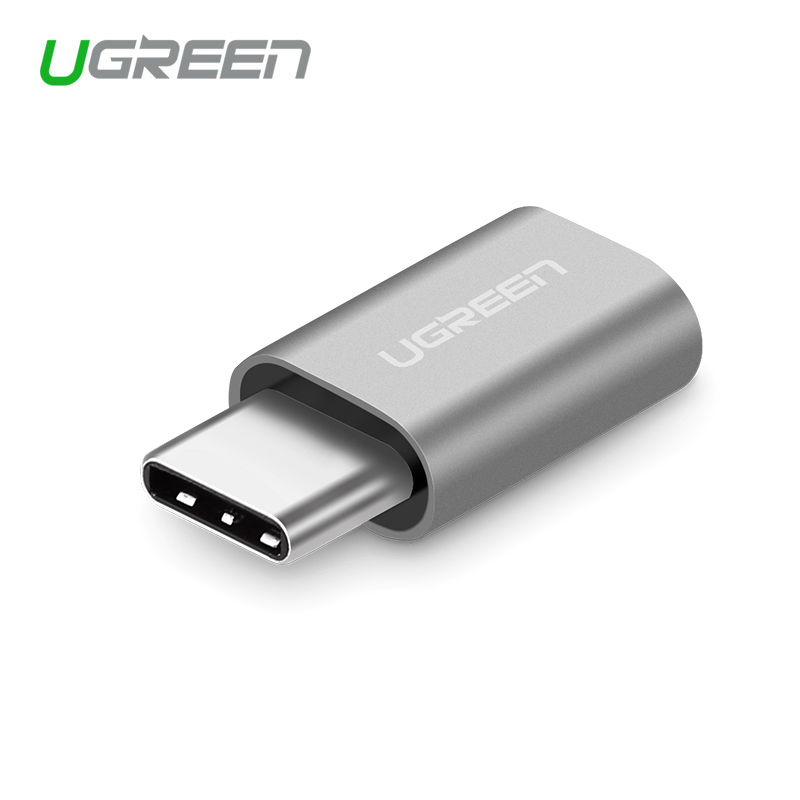 Ugreen USB Type C 3.1 to Micro USB Cable Adapter USB C Converter for Xiaomi 4C Lg G5 Nexus 5x 6p Oneplus2 Macbook Type-C Adapter lg g5 se h845 pink