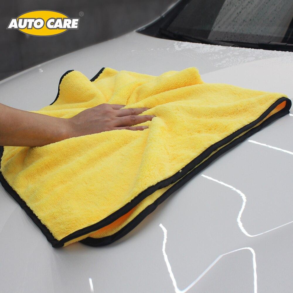 Super Assorbente Lavaggio Auto Asciugamano In Microfibra Auto Pulizia Asciugatura Panno di Grandi Dimensioni 92*56 cm Orlare Car Care Panno Detailing Towel