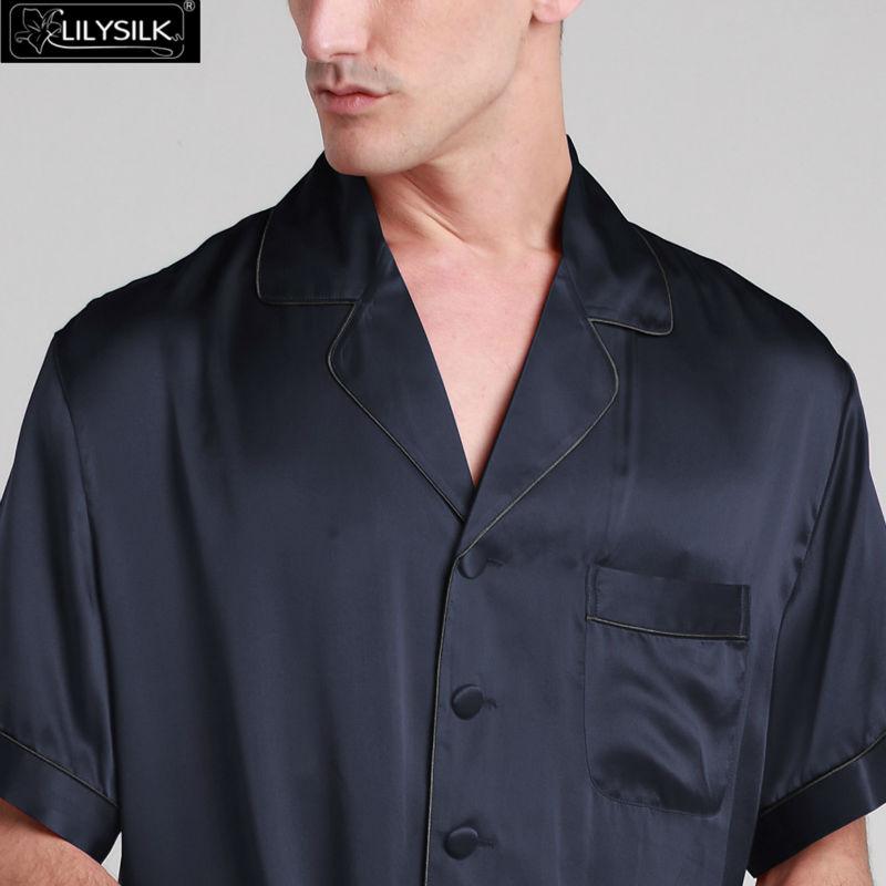 1000-navy-blue-22-momme-contrast-trim-short-silk-pyjamas-set-01