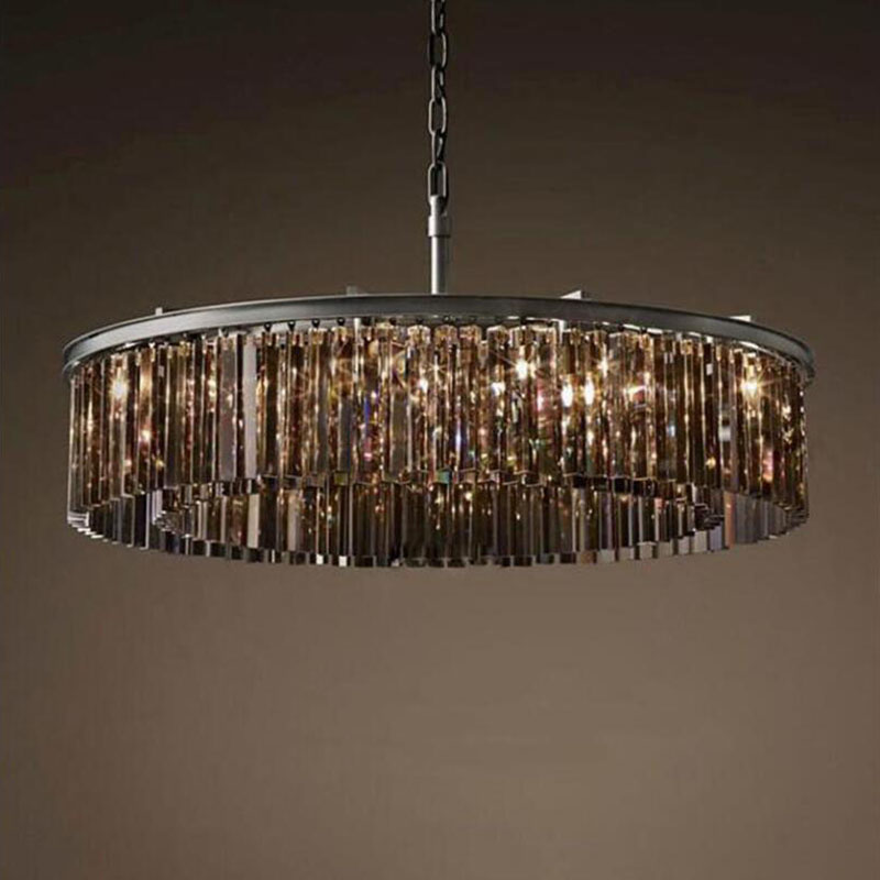 Lighting Living Room Lounge Hallway Lighting Ideal For Low Ceilings Led Compatible Modern 4 Light Round Crystal Droplet Chandelier Flush Ceiling Light In Chrome With Diamond Shaped Droplets Chandeliers