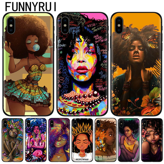 coque iphone x afro