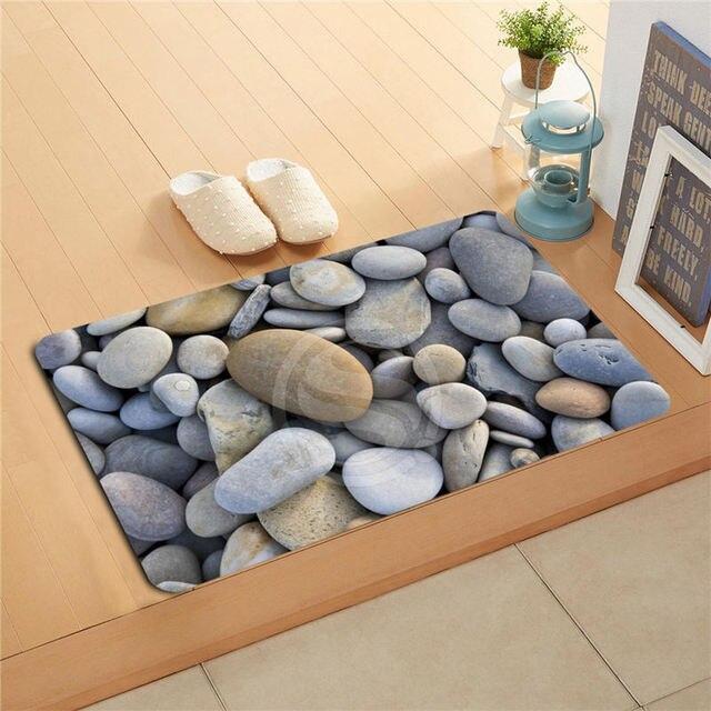 tapis de bain sur mesure #13: tapis antidérapant color noir | hoze