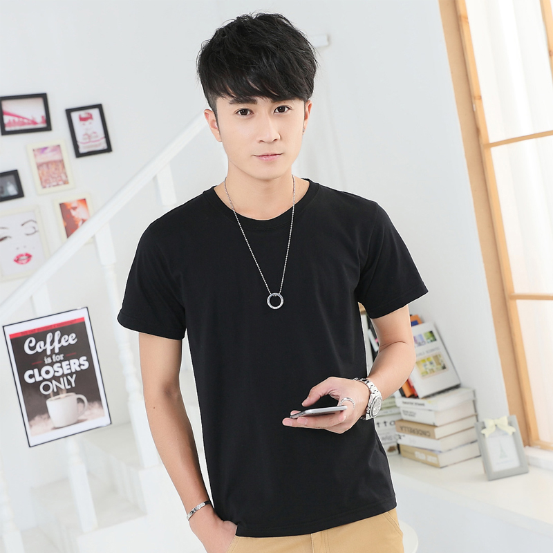 New summer fashion men s T shirt with short sleeve bigger sizes render unlined upper garment
