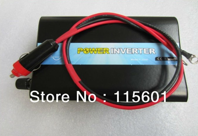 Factory Direct Selling 300w Car Inverter DC12V to AC120V CE&RoHS Approved