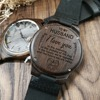 Wife to MY Husband Engraved Wooden Watch I LOVE YOU 5