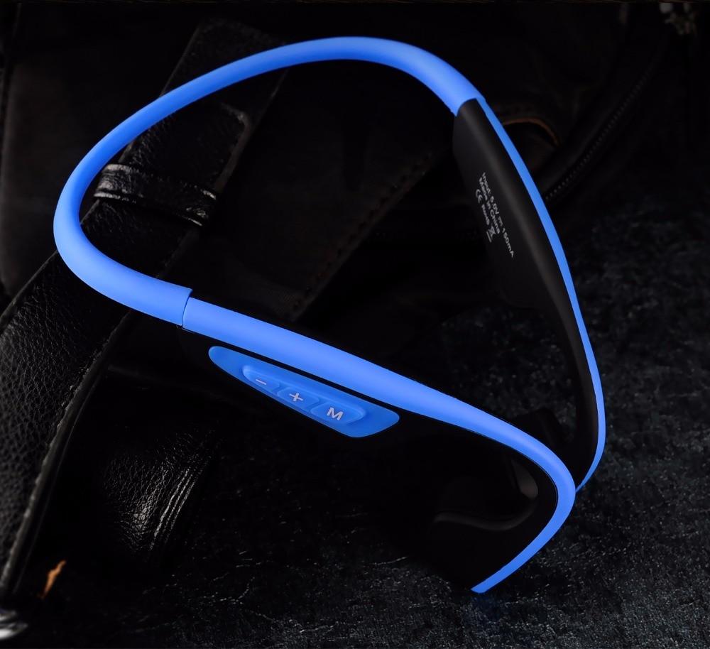 S.Wear LF-19 Bone Wireless Bluetooth Stereo Headsets BT 4.1 Waterproof Neck-strap earphones Bone Conduction Headsets Hands-free