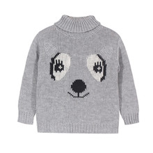2016 New KIDS Boy Girls Sweater Thick Triangle Vintage Bobo Choses Baby Girls Clothes Jumper winter Autumn Kids Costume