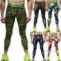 Mens Joggers Pantalones Masculinos de Los Hombres Pantalones de Hombre pantalones de Chándal Basculador Pantalones Medias de Compresión Mallas Malla QSP