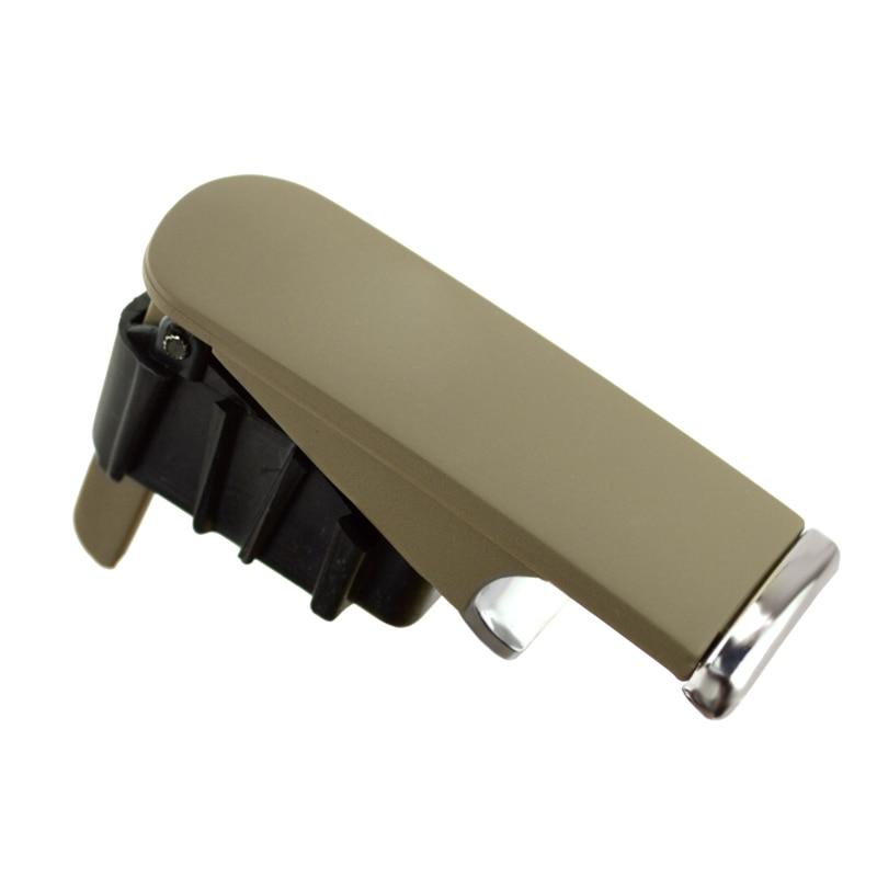 Runmade Glove Box Lock Lid Handle W//O Lock Hole Light Gray for Audi A4 8E B6 B7