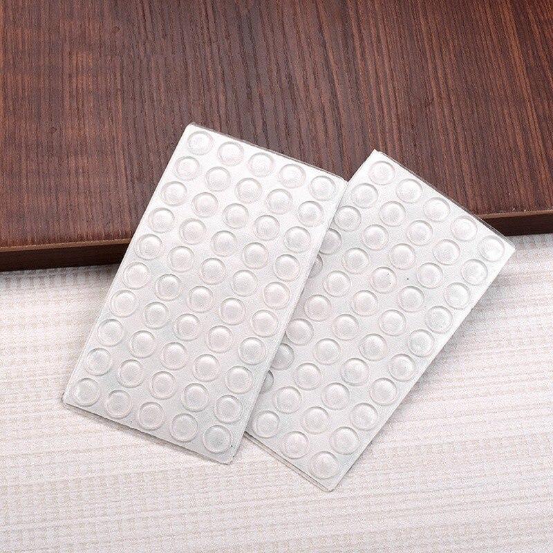 50 Pcs Deurstopper Siliconen Rubber Keukenkast Dikte Kast Zelfklevende Stop Demper Buffer Pad Meubels Hardware Heilzaam Voor Het Sperma