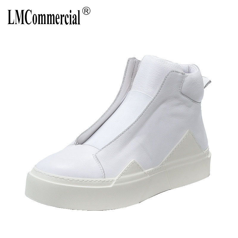 Real leather retro high top fashion casual shoes men all-match cowhide spring autumn breathable sneaker mens Leisure shoesReal leather retro high top fashion casual shoes men all-match cowhide spring autumn breathable sneaker mens Leisure shoes