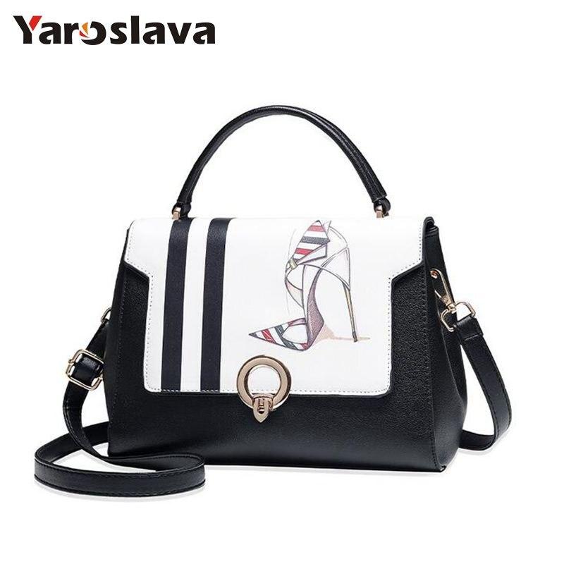 Women Messenger Bags Leather Handbag Pattern Ladies Hand Bag Women Tote Bag Female Corssbody Bags For Women LL133