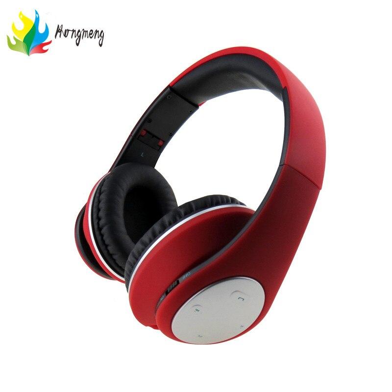 BT-990 headphones Bluetooth Headset Stereo Wireless Foldable for xiaomi Huawei Phone Card, FM Radio aeg kh 4223 bt stereo red bluetooth наушники