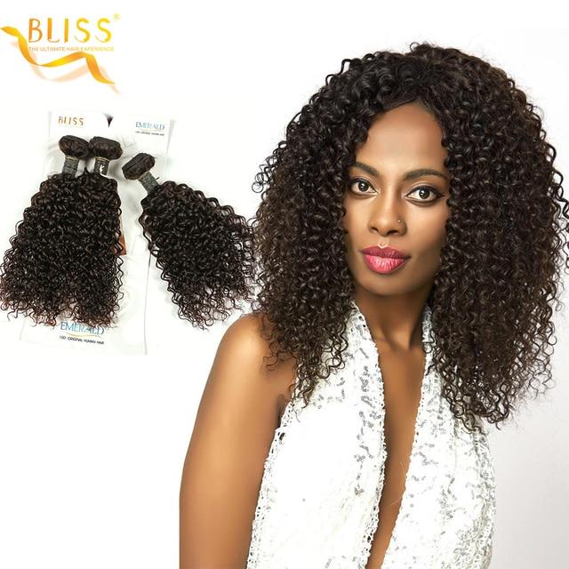 Bliss Hair Mongolian Curl Brazilian Hair Weave 3 Bundles 210 Gram 8