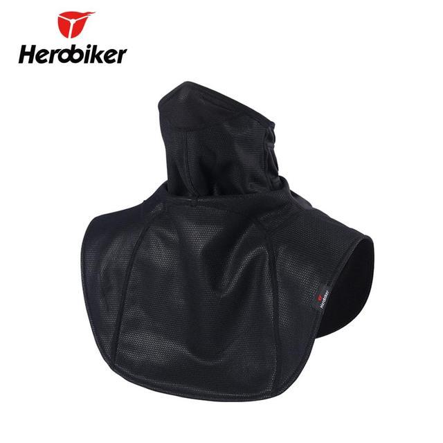 HEROBIKER Moto balaclava Motorcycle Face Mask Bicycle Neckerchief Cloak Windproof Winter Thermal Fleece Cycling Mask Moto Scarf 1