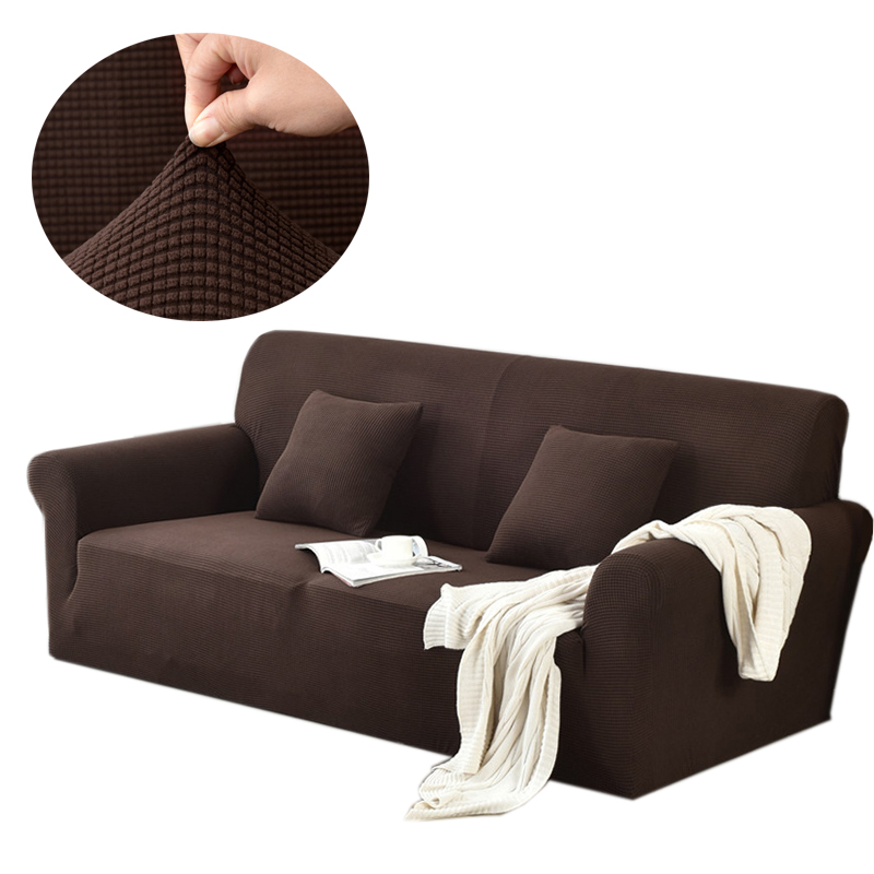Home Textile Hard-Working Polar Fleece Sofa Cover Slipcovers All-inclusive Couch Case For Different Shape Sofa Elastic Fabric Sofa Set For Living Room Save 50-70% Sofa Cover