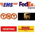 Ordem taxa extra para envio rápido expresso EMS DHL FEDEX UPS TNT ARAMEX