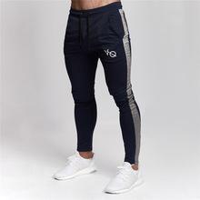 Wysokiej jakości spodnie Jogger mężczyźni fitness Kulturystyka spodnie dla biegaczy jesień Sweat spodnie marki Odzież JBCK6 amp 10 amp 31 tanie tanio Mężczyzn Pełna długość Połowie 2 29-3 4 jogging pants men Płaskie Poliester bawełna Sznurkiem Midweight Skośnym
