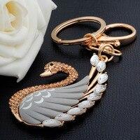 New Magic Friendship Key Chain For Woman Jewelry Gift Animal Keychain Swan Keychain For Car Bag