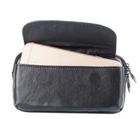 Belt Clip Genuine Cow Leather Cell Phone Case Pouch For Moto C C Plus Moto M
