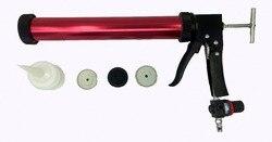 De alta calidad 600 ml 20,3 oz paquete suave sellador aplicador neumático pistola de calafateo
