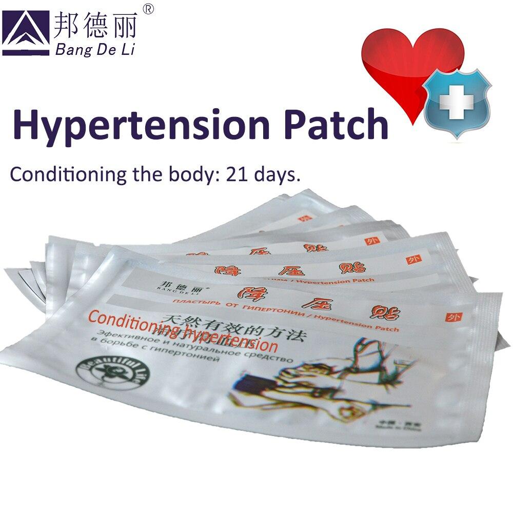 50 шт. китайские натуральные травы гипертонический патч массаж уменьшить контроль высокого кровяного давления патч для очистки кровеносног...