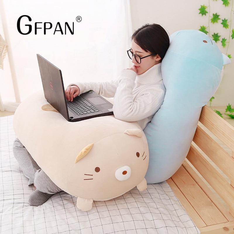 Popular Cushion 30/60cm Kawaii Japanese Animation Sumikko Gurashi Soft Plush Toy   Cartoon Doll  Party Gift For Kids