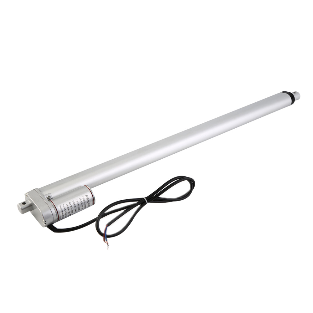 New Heavy Duty Linear Actuator 20 Stroke 220 Pound Max Lift 12V DC 8mm/s mini electric linear actuator linear tubular motor 10inch 250mm stroke 12v dc electric linear actuator 4 27mm s 150kg load 12 36v dc 1500n heavy duty tubular electric motor 24v