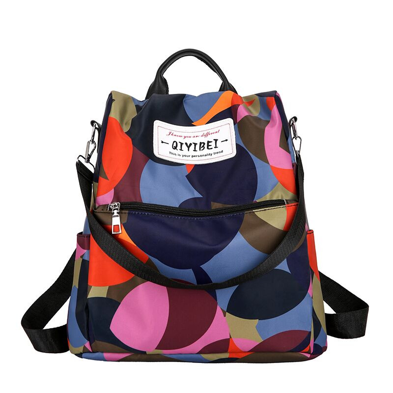 Ladies Oxford Cloth Backpack School Bags For Teenage Girls colorful Wild Anti-Theft Laptop Shoulder Bag female Casual sac a dosLadies Oxford Cloth Backpack School Bags For Teenage Girls colorful Wild Anti-Theft Laptop Shoulder Bag female Casual sac a dos