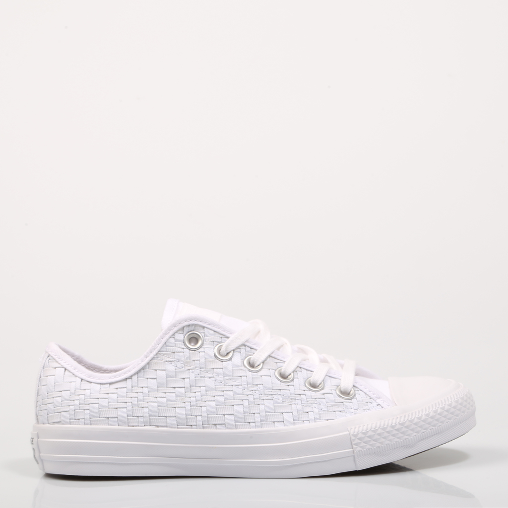 converse femmes blanche toile