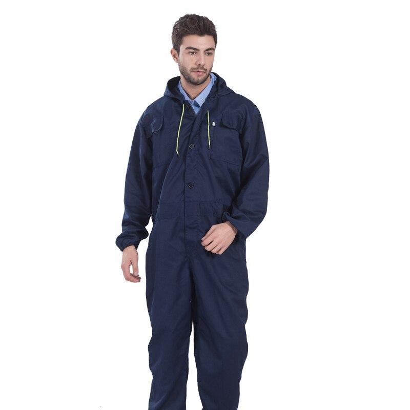 Navy Blu Arancio Workwear tute mens di protezione minatore tuta tute tute uniformi di lavoro lungo sleeveless riparatore-in Indumenti di protezione da Sicurezza e protezione su AliExpress - 11.11_Doppio 11Giorno dei single 1