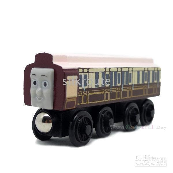 Engine Wooden Railway Train NEW kids game gifts OLD_SLOW_COACH -Thomas Tank