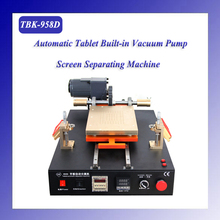 Hot TBK-958D Factory direct sale Semi-automatic vacuum separator tablet LCD separating machine for 14 inch screens