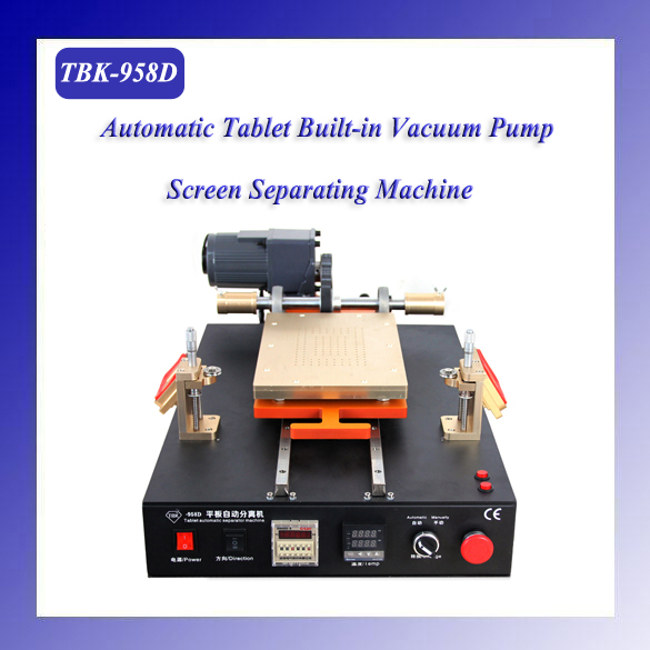 Hot TBK-958D Factory direct sale Semi-automatic vacuum separator tablet LCD separating machine for 14 inch screens  tbk 228 electric heating and air blow separating roaster lcd repairing equipment