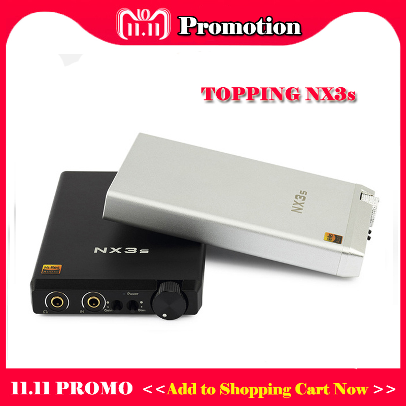 TOPPING NX3s Portable Headphone Amplifier Audio OPA2140+LME49720 Mini Headphone Amp Hifi RCA Headphones Amplifier Earphone topping nx3 portable headphone amplifier audio tpa6120a2 hifi headphone amp mini amplifier headphones cheap earphone amplifier