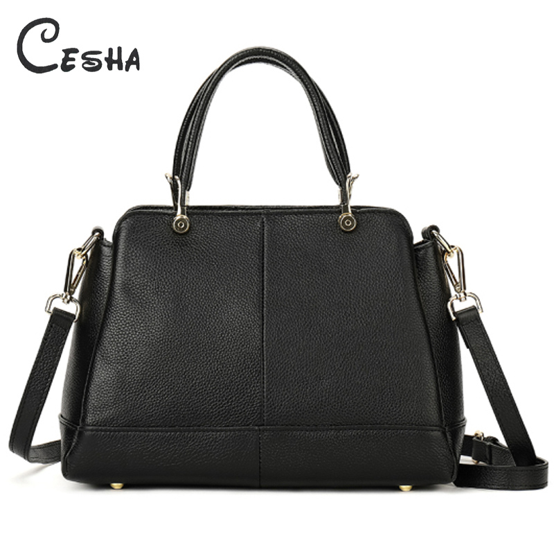 Luxury Genuine Cow Leather Business Women Handbag High Quality Real Cowhide Leather Bag Fashion Female Leather Shoulder Bag hahmes 100% genuine leather women bag crocodile pattern fashion handbag female real cow leather shoulder bag 34cm 10909