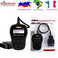 Analisador de Motor Universal ANCEL AD210 OBDII Auto Ferramenta de Diagnóstico Mini ELM327 OBD Scanner Automotivo PK AD310 AD210 OM123 NL100