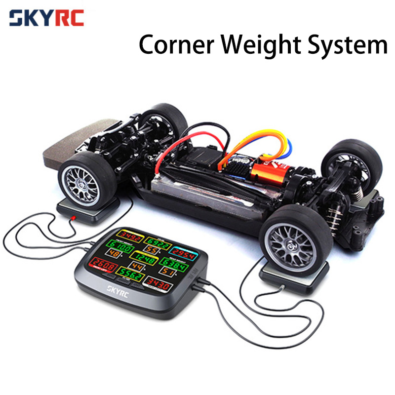 SKYRC Corner Weight System RC Car Balance Scale Kit for 1 8 1 10 1 12