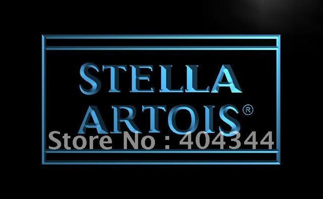 Le103 Stella Artois Beer Vintage Bar Led Neon Light Sign Home Decor