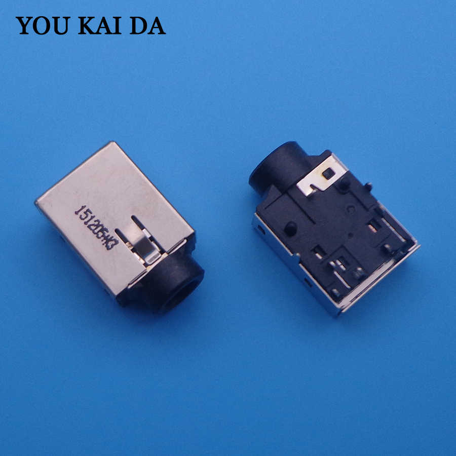 ShineBear New Laptop Audio Jack Notebook Headphone Socket Connector for Lenovo HP DELL Samsung ACER ASUS MIC Port Plug Cable Length: 50PCS