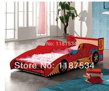 Lovely children beds car model children beds lovely children furniture(China)