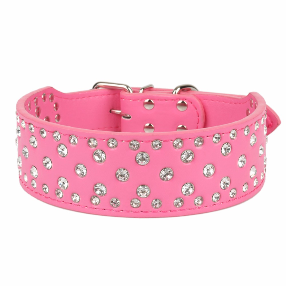 Traumdeutung Large Dogs Collars Rhinestone Accessories Pets Product Collar Personalized For Big Dog Collars Necklace greyhound