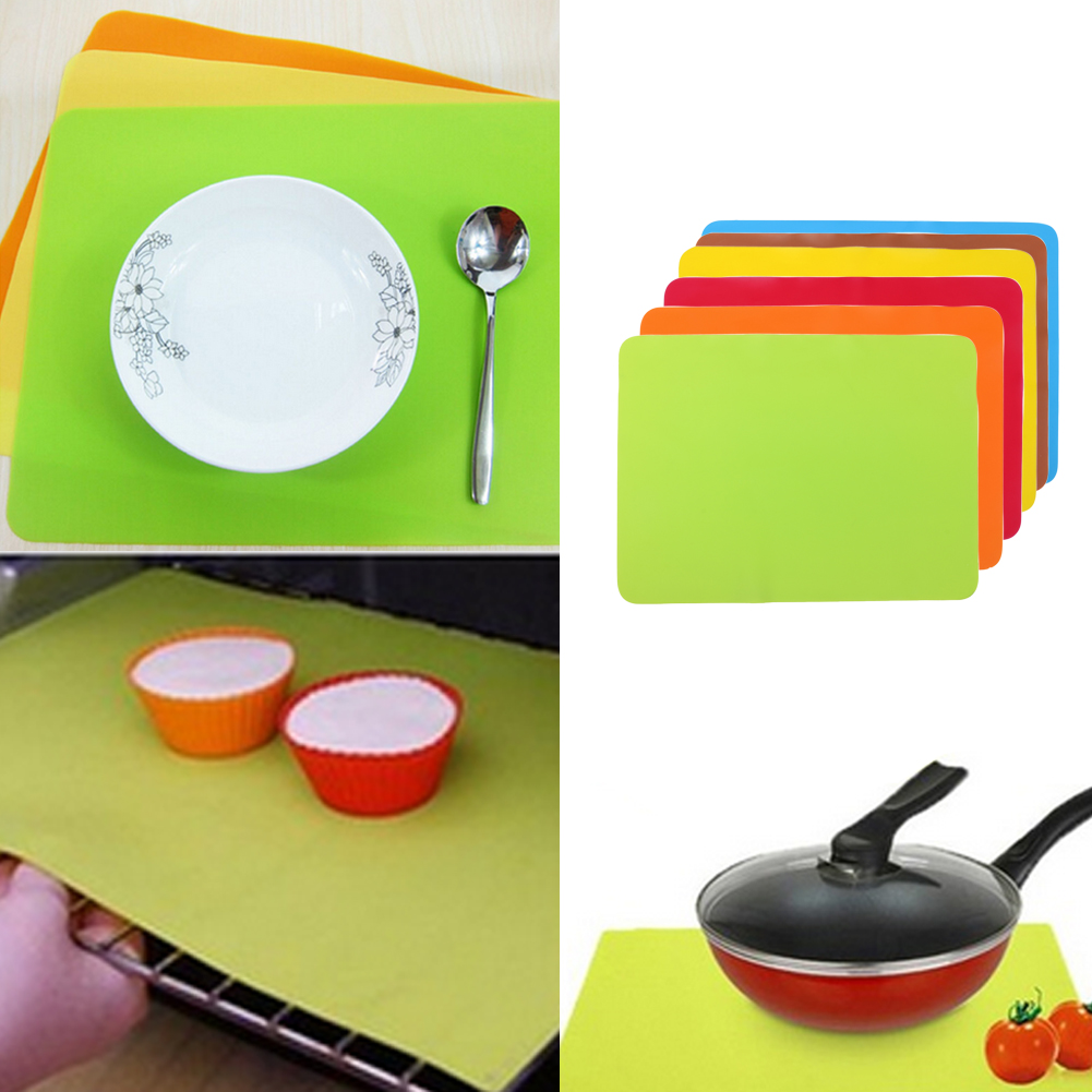 30 40cm Non Stick Silicone Mats Baking Liner Oven Mat Heat