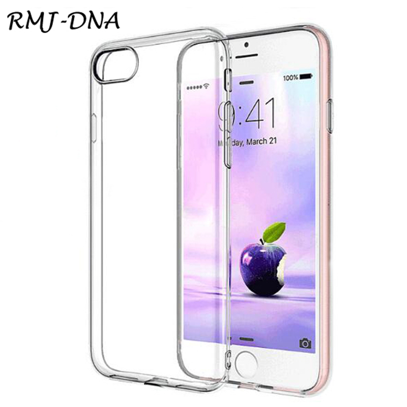 Για Apple iphone6 ​​6s / 6 6splus Soft Silicone Case Cover For iphone 7 7plus Silicone TPU Coke Transparent For iphone 8 Luxury Case